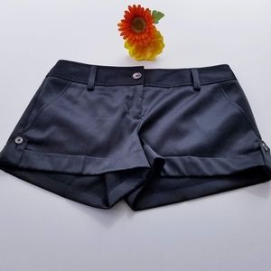 Express Design Studio Black Dress Shorts NWOT